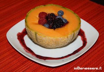 Melone ai frutti rossi