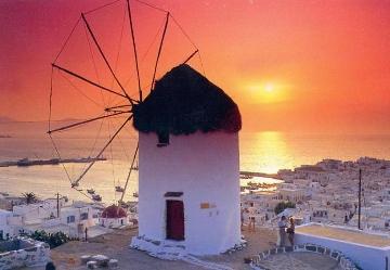 Vacanza sull'isola di Mykonos