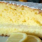 Torta farcita con crema di limone