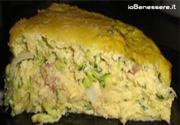 Frittata al forno di zucchine e ricotta