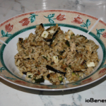 Insalata di riso integrale con verdure grigliate