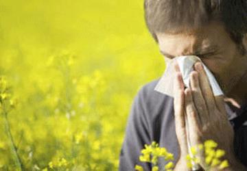 Cura dell'allergia con la riflessologia