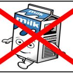 Latte vietato