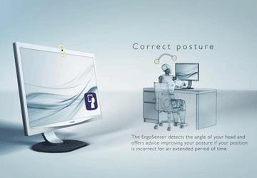 Monitor controlla postura