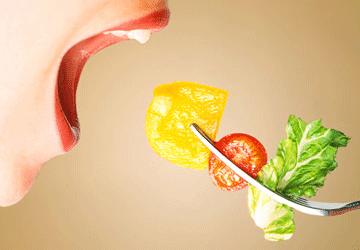 Verdura prima dei pasti