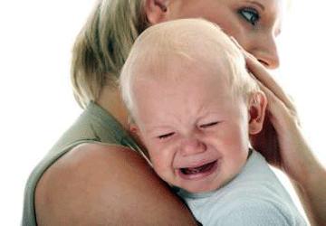 Ansia mamma e pianto neonato