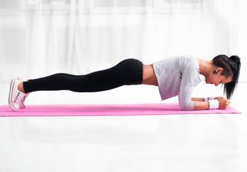 Plank Esercizio Addominali
