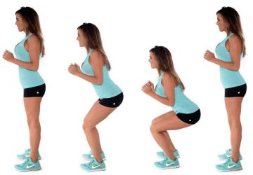 Squat: come farli bene per tonificare gambe, glutei e molto altro